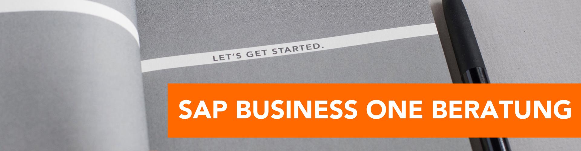 SAP Business One Beratung